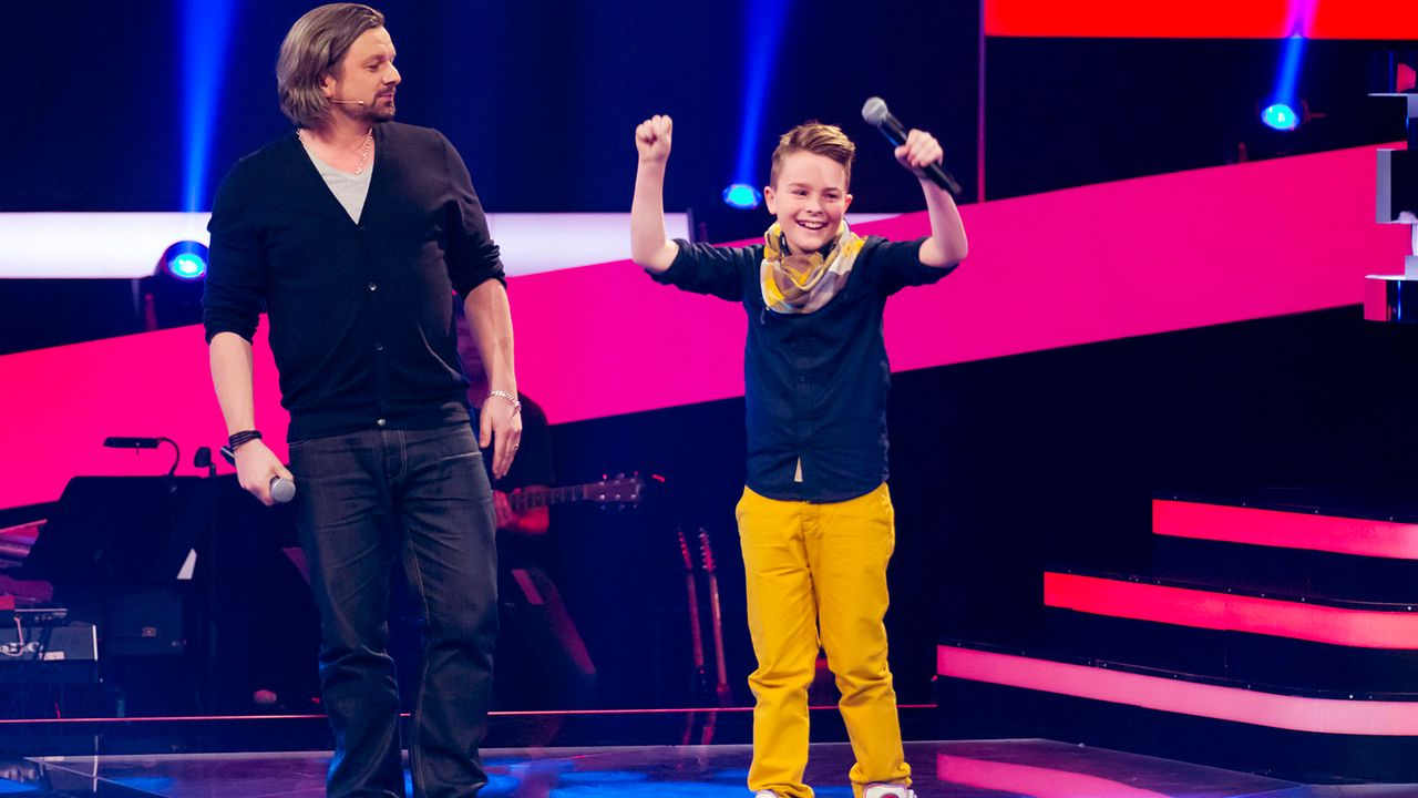 The-Voice-Kids-epi03-danach-Mike-S-3-SAT1-Richard-Huebner - Bildquelle: SAT.1/Richard Hübner