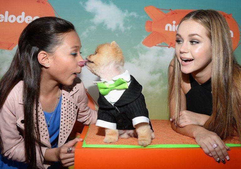 Nickelodeon-04-breanna-yde-brec-bassinger-getty-AFP - Bildquelle: getty-AFP