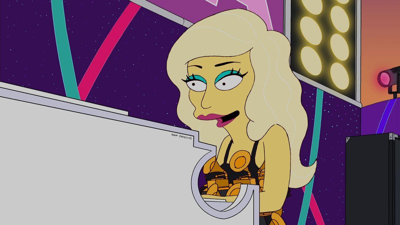Eilt nach Springfield, um der deprimierten Lisa zu helfen: Lady Gaga ... - Bildquelle: und TM Twentieth Century Fox Film Corporation - Alle Rechte vorbehalten