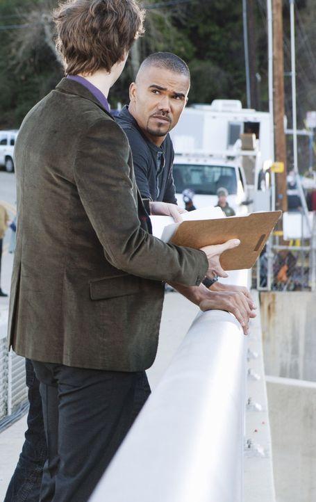Ermitteln in einem neuen Fall: Derek Morgan (Shemar Moore, r.) und Reid (Matthew Gray Gubler, l.) ... - Bildquelle: ABC Studios
