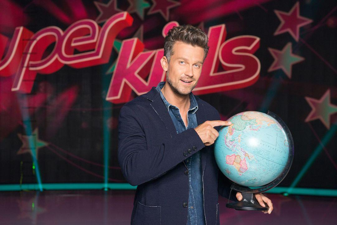 """Moderiert """"Superkids - Die größten kleinen Talente der Welt"""": Wayne Carpendale ... - Bildquelle: Martin Saumweber SAT.1"""