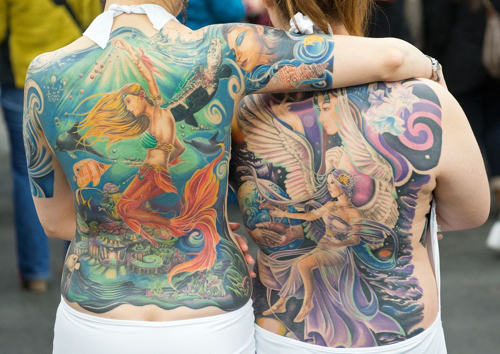 Tattoo8_dpa - Bildquelle: dpa