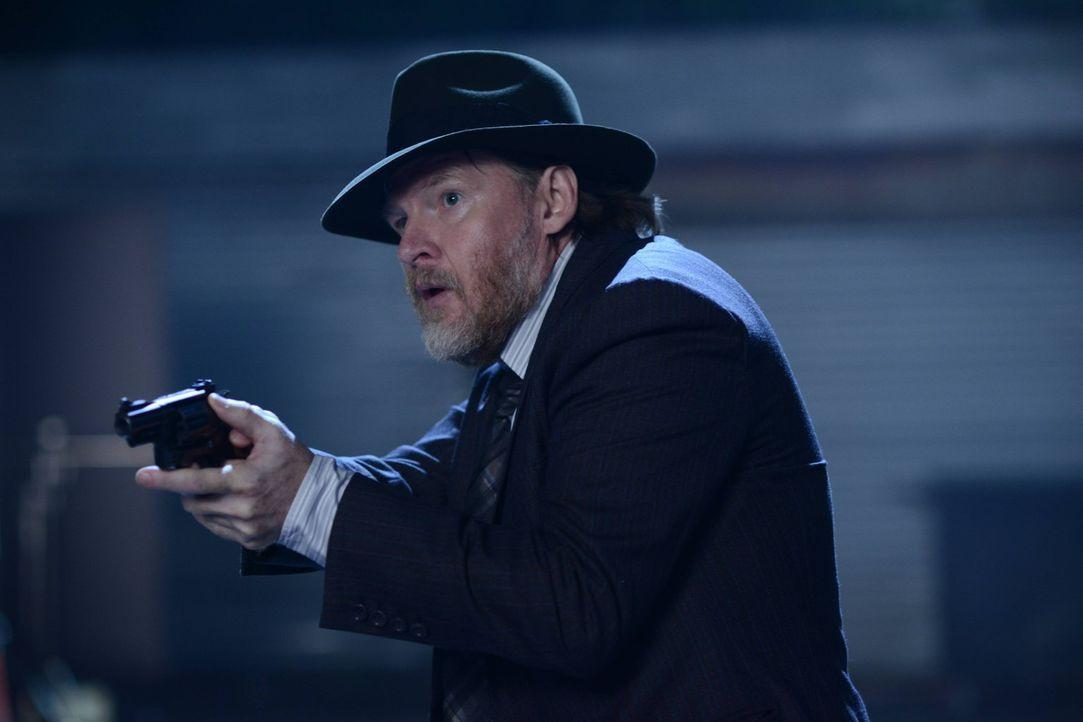 Versucht in Gotham für Recht und Ordnung zu sorgen: Bullock (Donal Logue) ... - Bildquelle: Warner Brothers