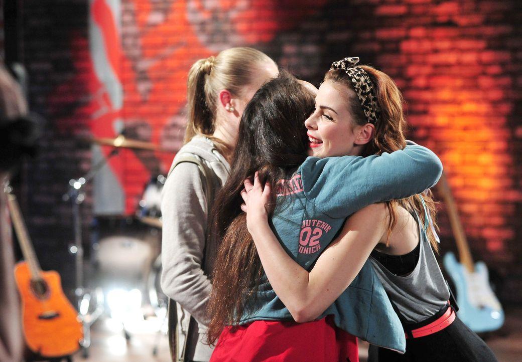 The-Voice-Kids-Stf02-Epi06-Lara-Lene-59-SAT1-Andre-Kowalski - Bildquelle: SAT.1/Andre Kowalski