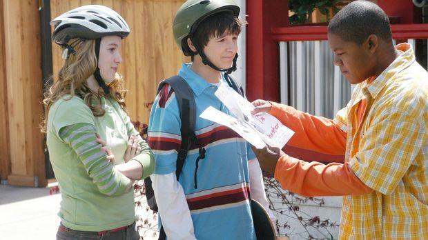 Der 13-jährige Calvin Wheeler (Kyle Massey, r.) ist ein verwöhnter Junge, für...