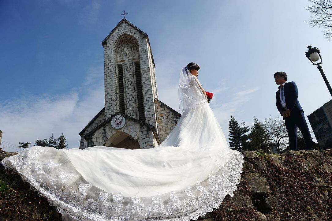 Hochzeitskleider-02-AFP - Bildquelle: AFP