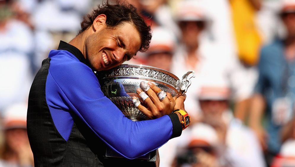 Rafael Nadal gewinnt zum zehnten Mal die French Open. - Bildquelle: 2017 Getty Images
