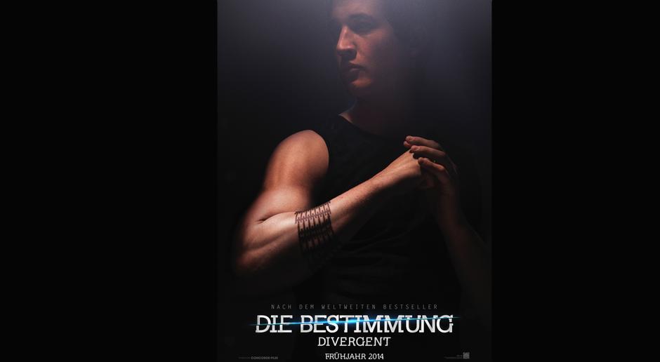 Divergent - Die Bestimmung - Character Poster Miles Teller - Max - Bildquelle: Concorde Filmverleih