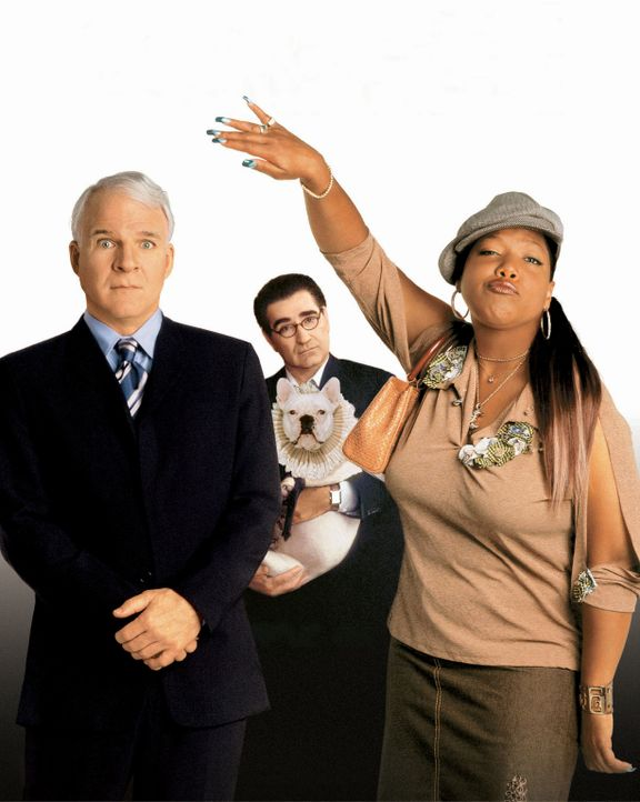 Haus über Kopf mit (v.l.n.r.) Steve Martin, Eugene Levy und Queen Latifah - Bildquelle: Sam Emerson, Timothy White Touchstone Pictures