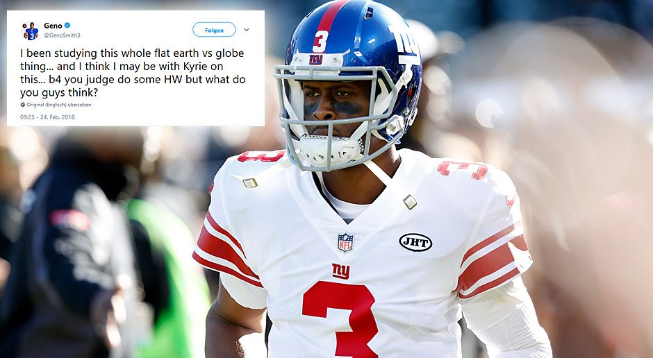 "Geno Smith lässt ""Flat Earth"" nicht los - Bildquelle: 2017 Getty Images"
