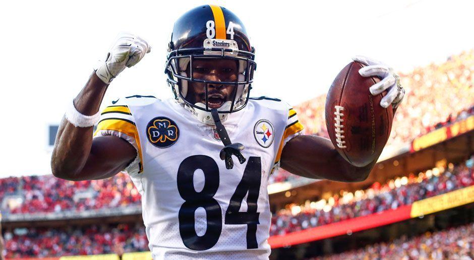 Wide Receiver A: Antonio Brown (Pittsburgh Steelers) - Bildquelle: 2017 Getty Images