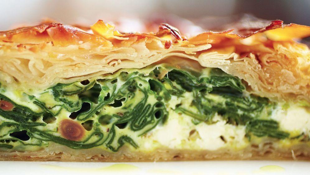 Feine Pastete Aus Feta Mit Salat Pasteten Rezept Von Jamie Olive