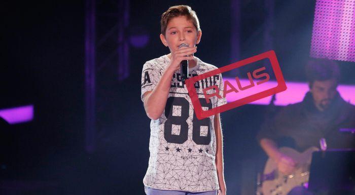 The-Voice-Kids-Stf04-RAUS-Jaimy-SAT1-Richard-Huebner - Bildquelle: © SAT.1/ Richard Hübner