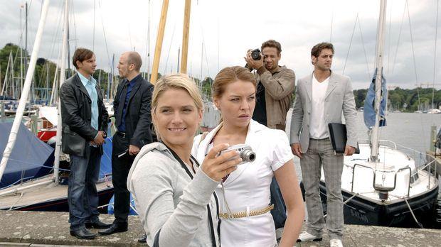 Bei der Locationsuche für das Shooting hat Anna eine ganz besondere Yacht ent...
