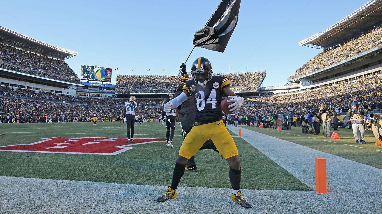 12. Antonio Brown (Pittsburgh Steelers) - Bildquelle: 2018 Getty Images