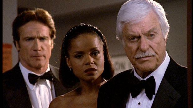 Steve (Barry Van Dyke, l.), Amanda (Victoria Rowell, M.) und Mark (Dick Van D...
