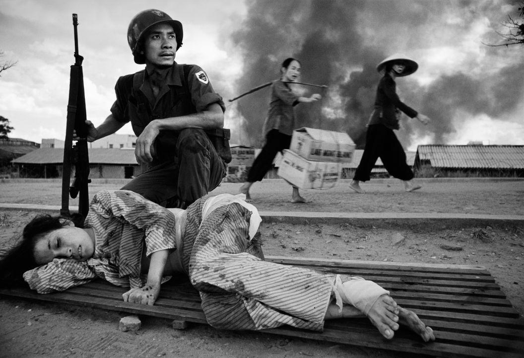 Der walisische Fotograf Philip Jones Griffiths besuchte 1966 Vietnam: Er erfasste unglaubliche Bilder von den Opfern des Krieges,  von unschuldigen... - Bildquelle: Philip Jones Griffiths/ Magnum Photos