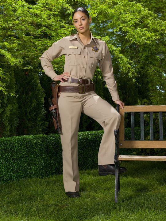 "(1. Staffel) - Deputy Sheriff von Eureka: Josefina ""Jo"" Lupo (Erica Cerra) ... - Bildquelle: Universal Television"