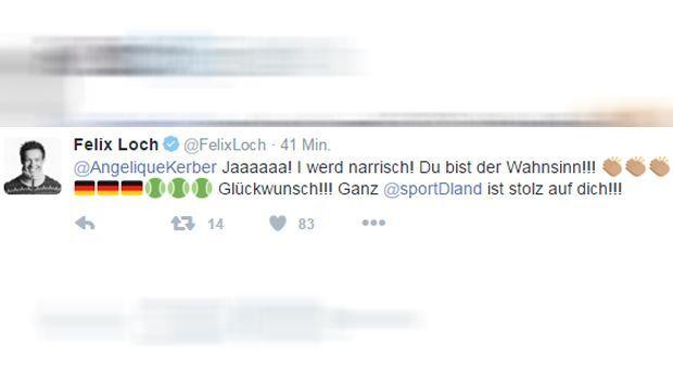 Felix Loch Tweet - Bildquelle: twitter / @felixloch