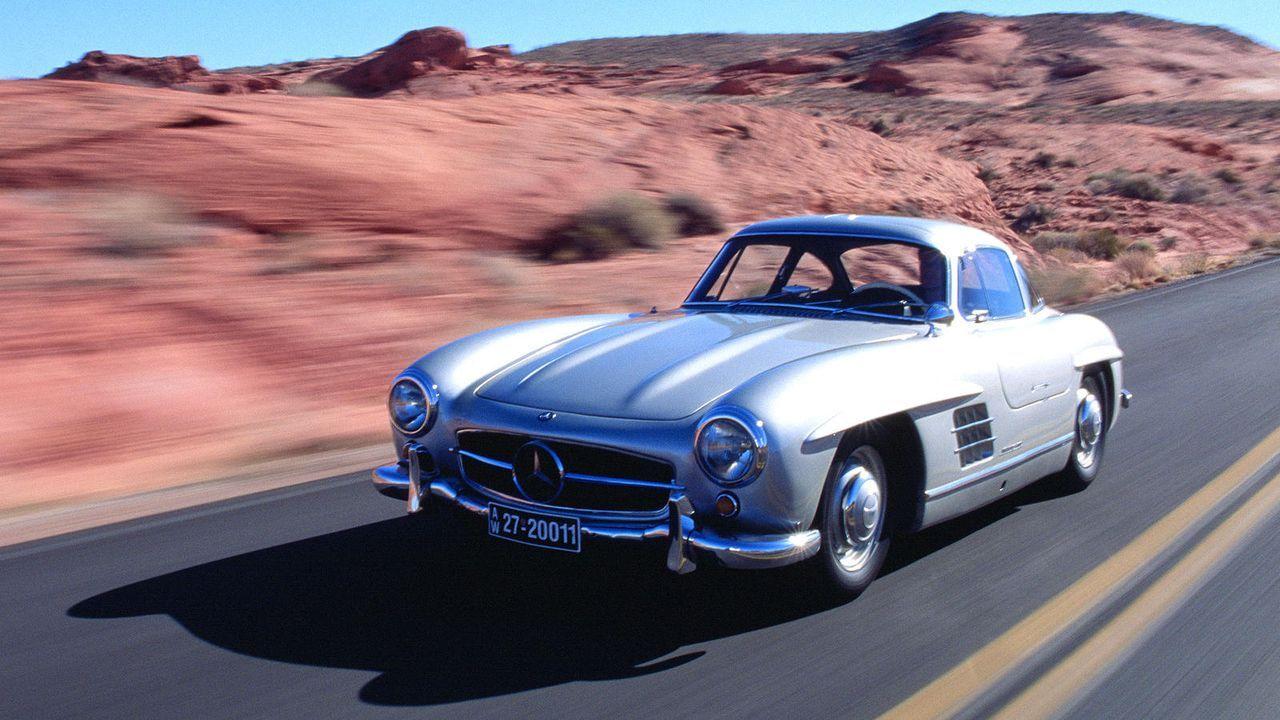 Mercedes 300SL - Bildquelle: Mercedes