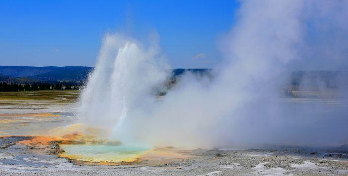 Yellowstone - Der Yellowstone Nationalpark ist geprägt vom Wechsel der Extrem...