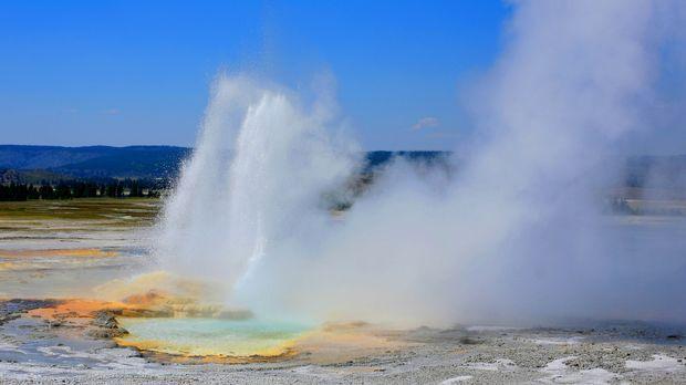 Der Yellowstone Nationalpark ist geprägt vom Wechsel der Extreme. Im Sommer,...