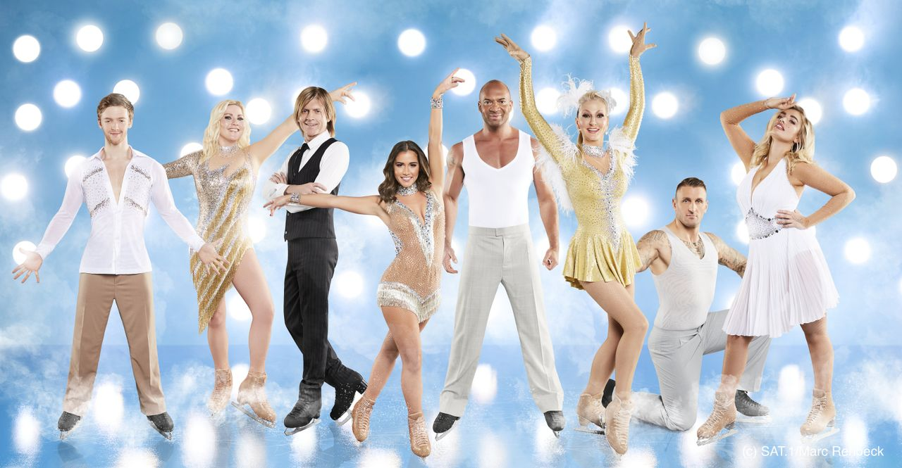 Gruppenfoto Presse Dancing on Ice