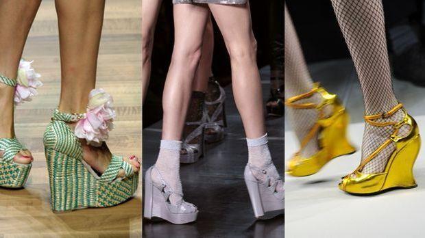 Der Schuh-Trend Keil-Sandaletten ist bequem und sexy zugleich!