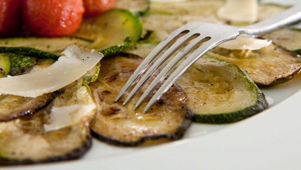 Zucchini-Scheiben