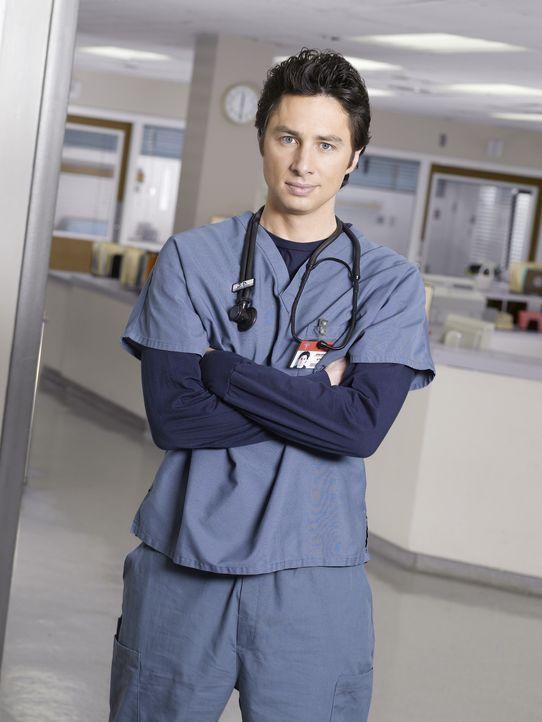 (6. Staffel) - Auf den engagierten Arzt J.D. (Zach Braff) warten neue Überraschungen ... - Bildquelle: Touchstone Television