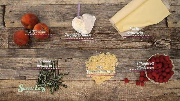 Zutaten: Süße Tarte-Streifen