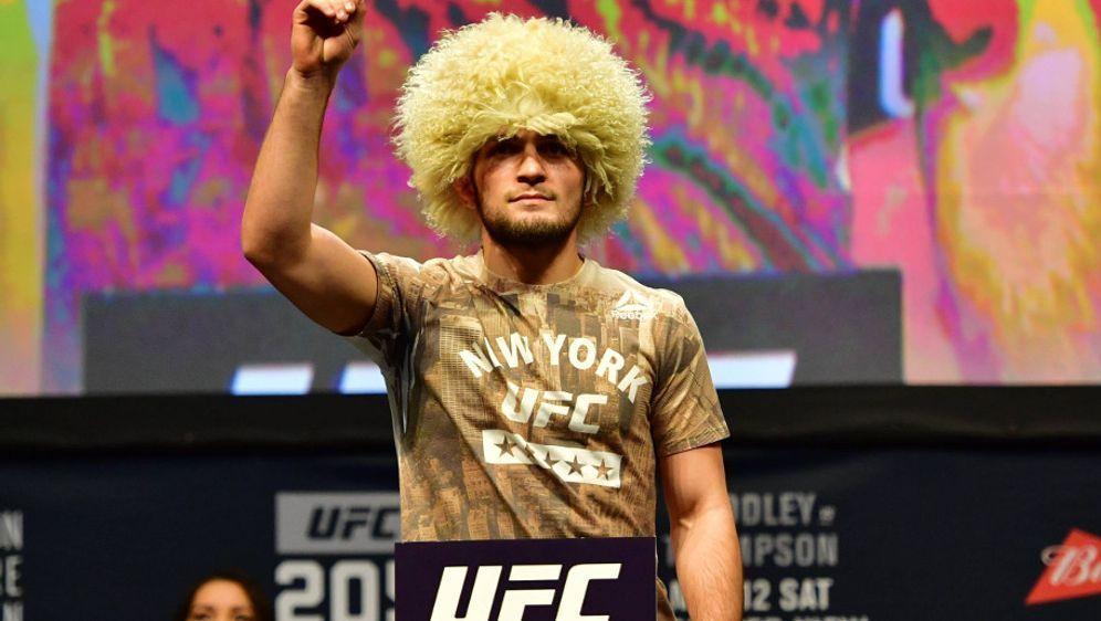 Khabib Nurmagomedov ist Russlands größter UFC-Star - Bildquelle: imago sportfoto