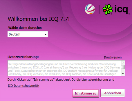 Willkommen bei ICQ