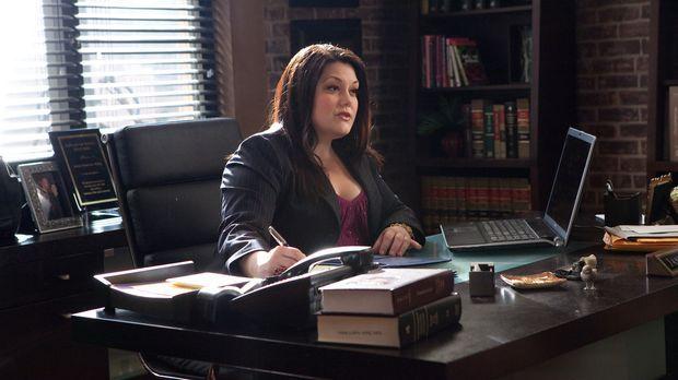 Vertritt ein Mädchen in einem Fall von Cybermobbing: Jane (Brooke Elliott) .....