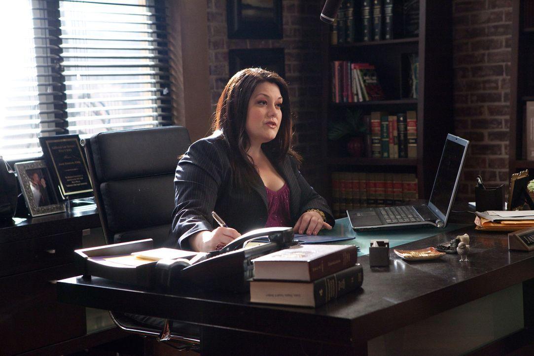 Vertritt ein Mädchen in einem Fall von Cybermobbing: Jane (Brooke Elliott) ... - Bildquelle: 2009 Sony Pictures Television Inc. All Rights Reserved.