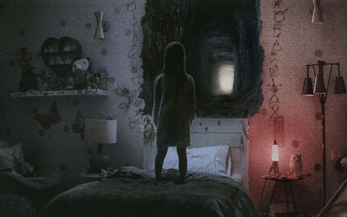Kurz nach ihrem Einzug in das neue Haus beginnt Leila (Ivy George) merkwürdige Dinge zu beobachten, die allmählich auch ihre Eltern beunruhigen ... - Bildquelle: 2015 Paramount Pictures.