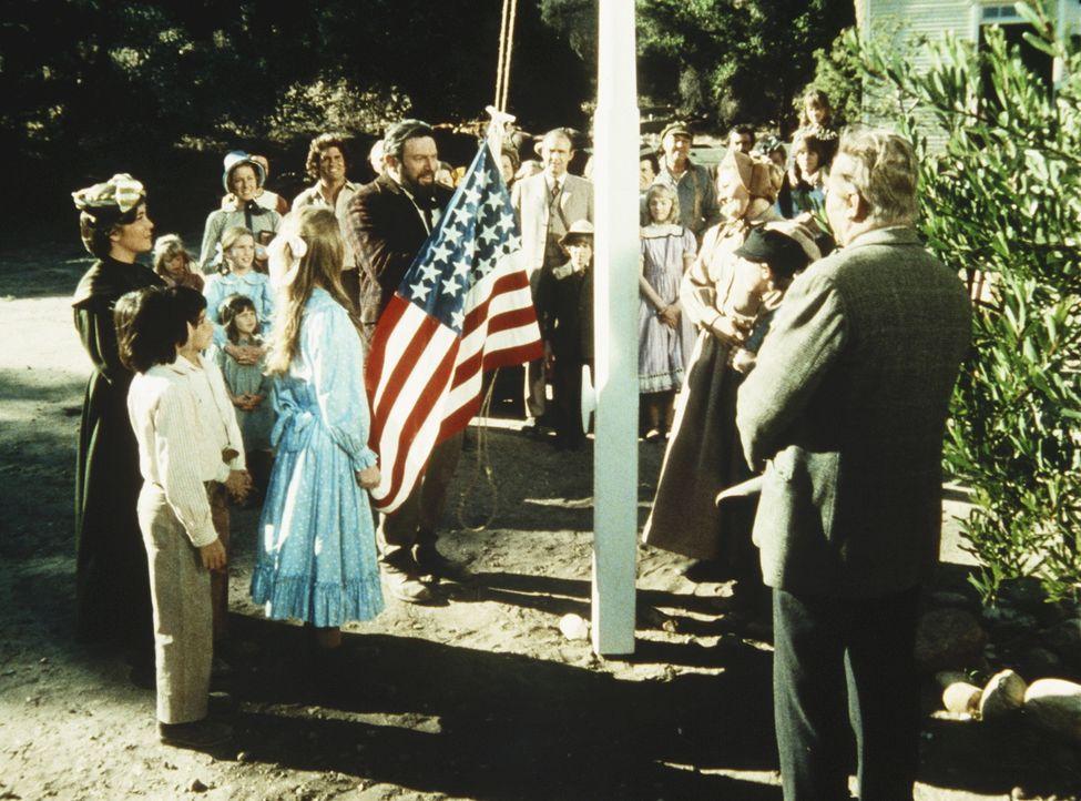 Die Vorbereitungen für die große Jahrhundertfeier im Städtchen Walnut Grove laufen auf Hochtouren. - Bildquelle: Worldvision