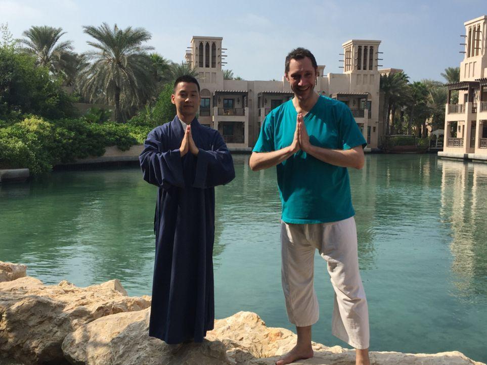 """""""Mega-Hotels!"""" begleitet das Team des Nobelhotels """"Al Naseem"""" über zwei Monate bis zur Eröffnung. Von der Baustelle, über den Einzug der 800 Mitarbe... - Bildquelle: SAT.1"""