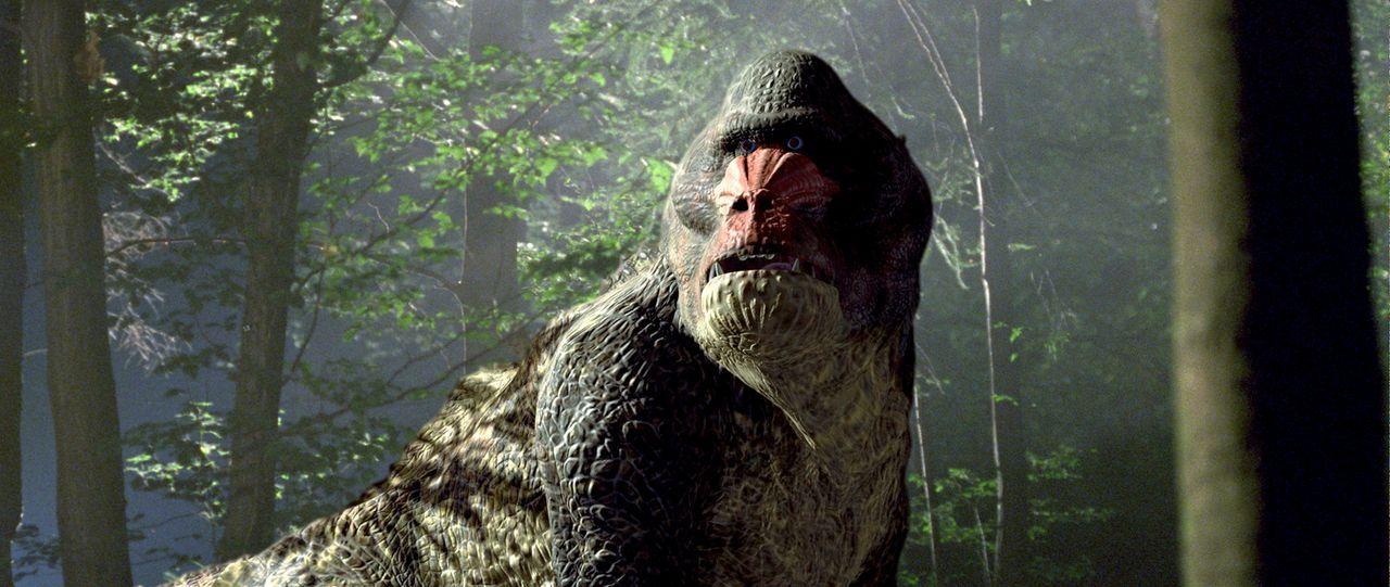 """Im Jahr 2055 gibt es nur noch im Zoo wilde Tiere. Deshalb bietet die Firma """"Time Safari Inc."""" individuelle Zeitreise-Jagdsafaris mit prähistorischer... - Bildquelle: ApolloMedia"""