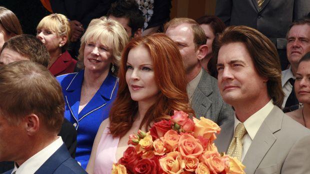 Bree (Marcia Cross, 2.v.r.) und Orson (Kyle MacLachlan, r.) kehren aus der Sc...