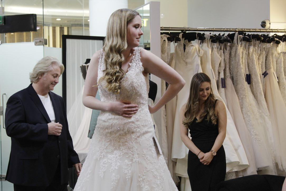 Eine der wichtigsten Regeln für die Begleiter der Braut beim Hochzeitskleid-... - Bildquelle: TLC & Discovery Communications