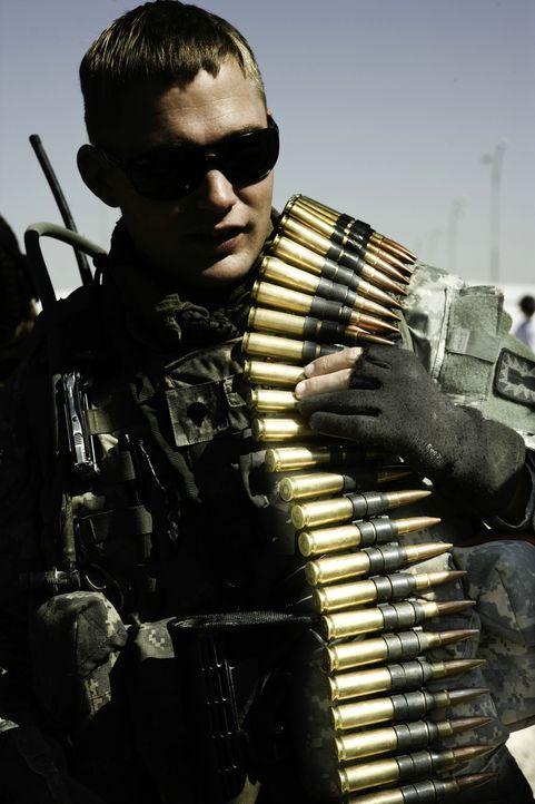 Sommer 2004 in Bagdad. Während Bombenräumer Owen Eldridge (Brian Geraghty) vergeblich versucht, seinen neuen Kommandanten zu kontrollieren, explodie... - Bildquelle: 2009 Concorde Filmverleih GmbH