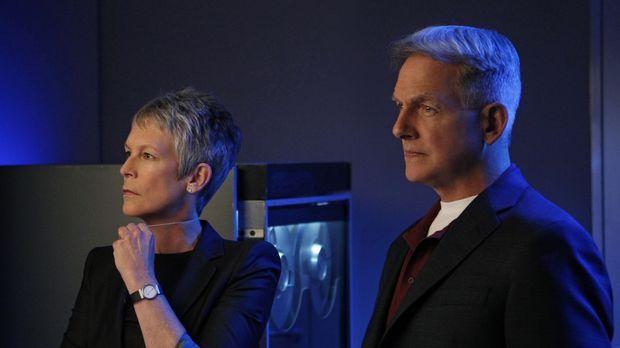 Müssen in einem neuen Fall zusammen arbeiten: Gibbs (Mark Harmon, r.) und Dr....