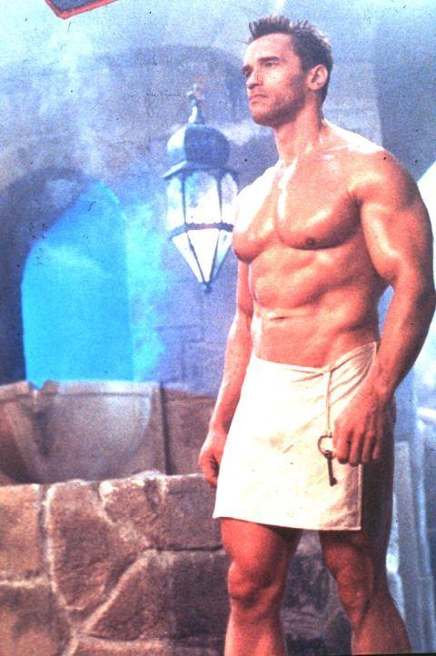 Der knallharte Moskau-Cop Ivan Danko (Arnold Schwarzenegger) macht immer und überall eine gute Figur.