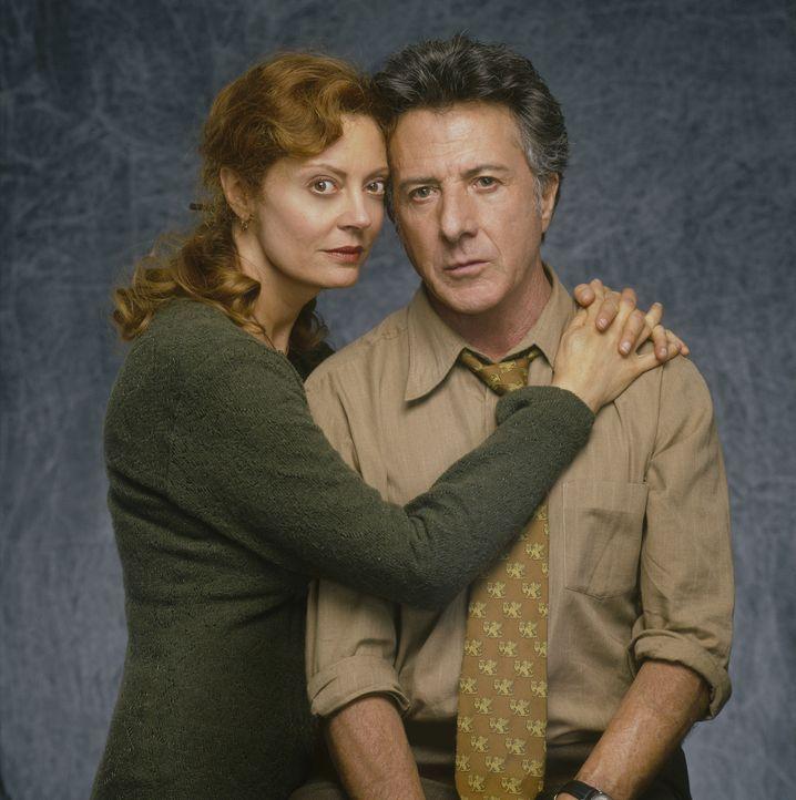 Kommen über den Tod ihrer Tochter nur schwer hinweg: Ben (Dustin Hoffman, r.) und Jojo Floss (Susan Saradon, l.) ... - Bildquelle: Touchstone Pictures
