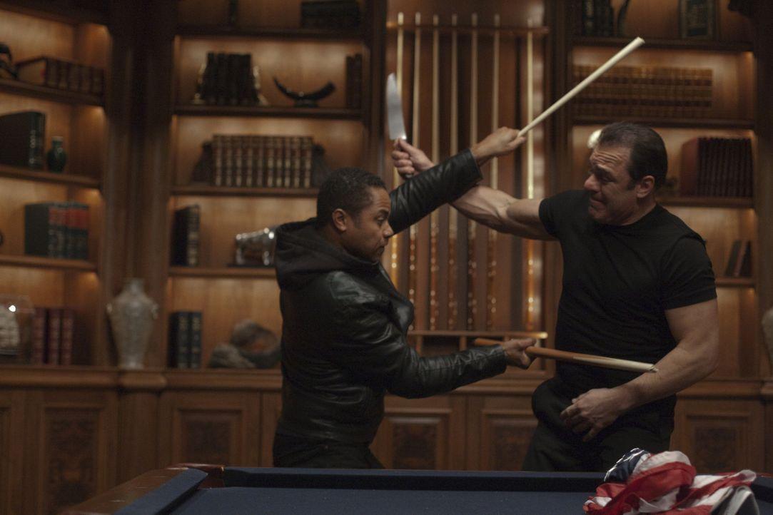 Seit Jahren erledigt Joshua (Cuba Gooding Jr., l.) für den Drogenboss Vincent die Drecksarbeit als Geldeintreiber und Auftragskiller. Als er von des... - Bildquelle: Paramount. All Rights Reserved.