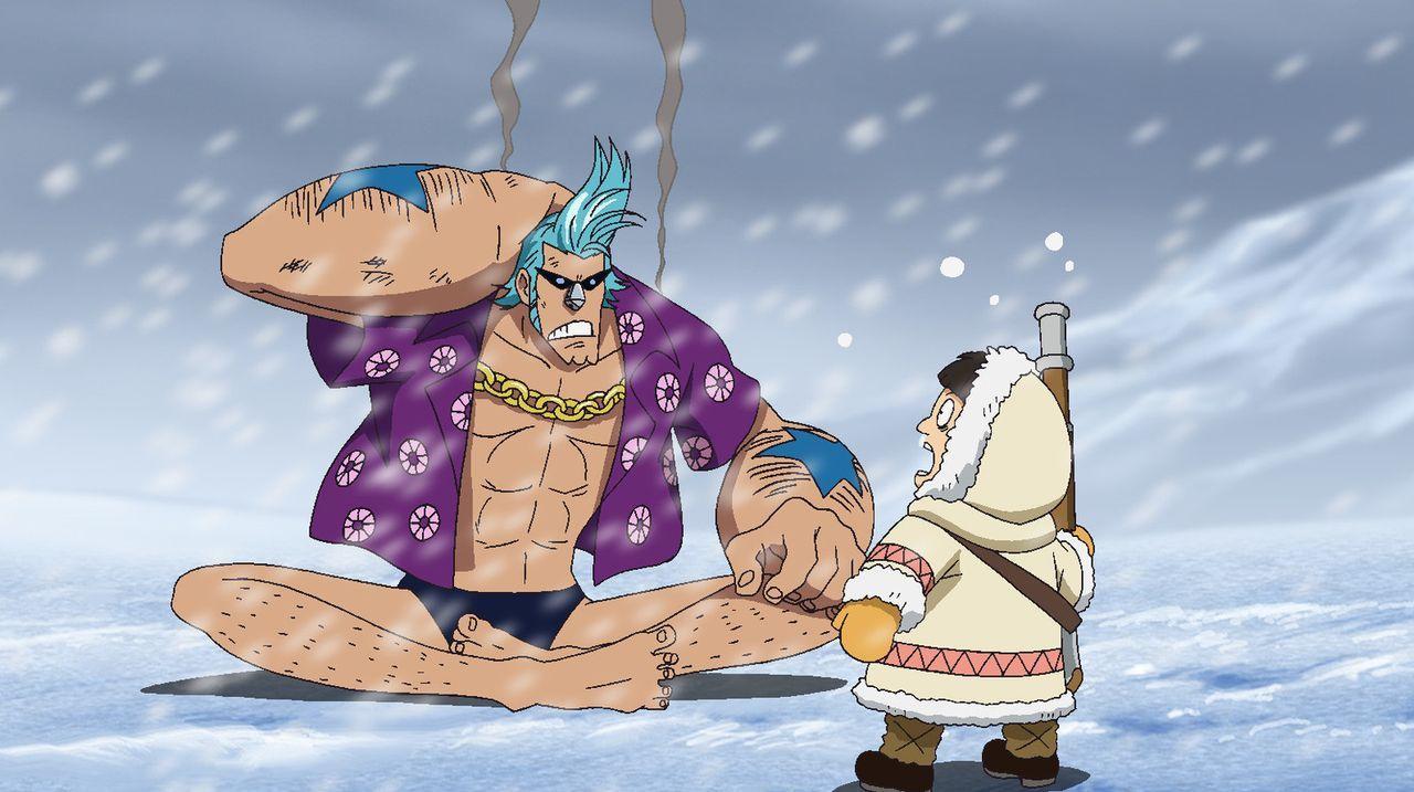 Während Ruffy mithilfe der Schlangenprinzessin das Leben seines Bruders Ace ... - Bildquelle: Eiichiro Oda/Shueisha, Toei Animation
