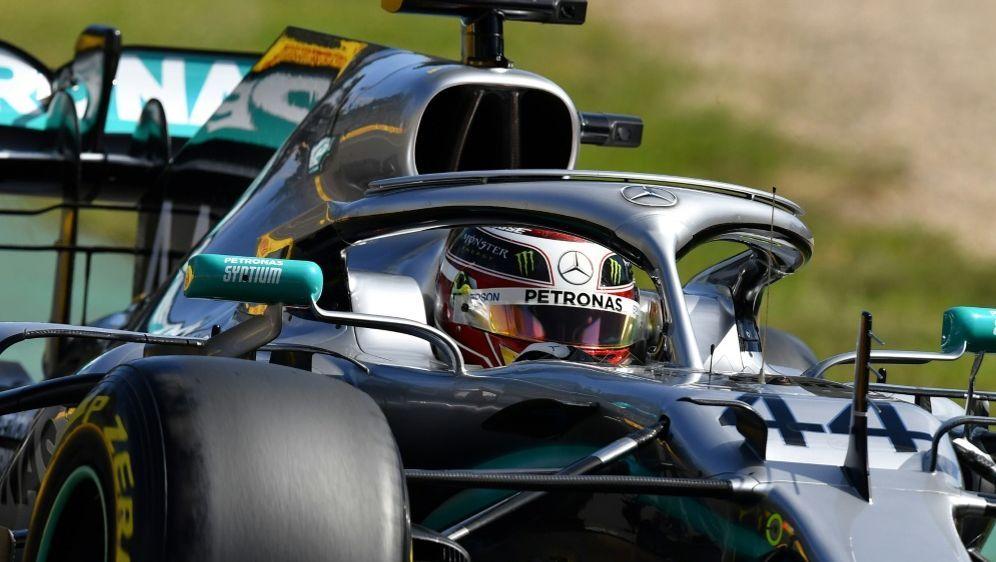 Schnellster zum Auftakt: Lewis Hamilton - Bildquelle: AFPSIDPeter PARKS