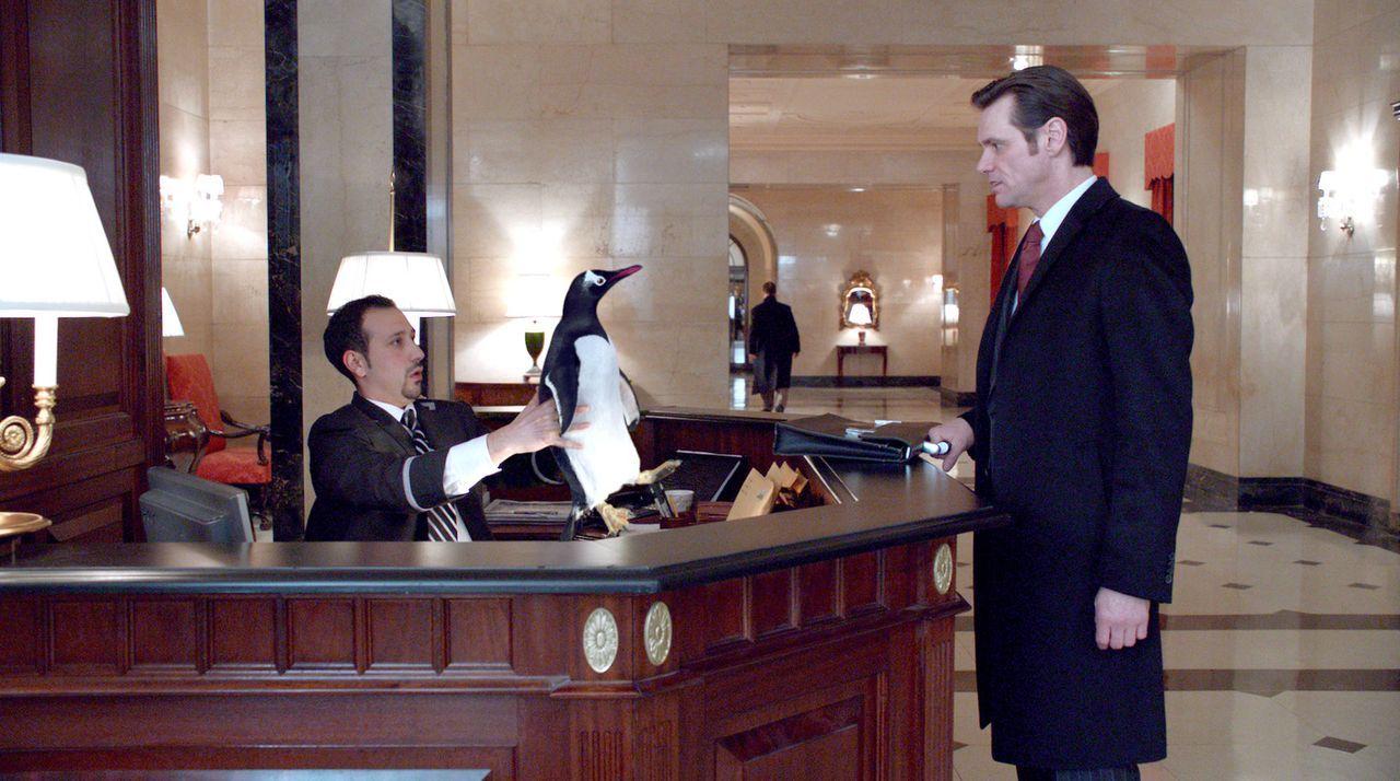 Arbeit ist alles für Tom Popper (Jim Carrey, r.). Dafür hat der von Ehrgeiz getriebene Geschäftsmann viel geopfert, lebt getrennt von seiner Frau... - Bildquelle: 2011 Twentieth Century Fox Film Corporation. All rights reserved.