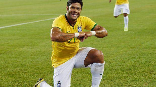 Brasilien-Hulk-150909-AFP © AFP